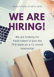 Opportunity AT TFG GROUP 2021