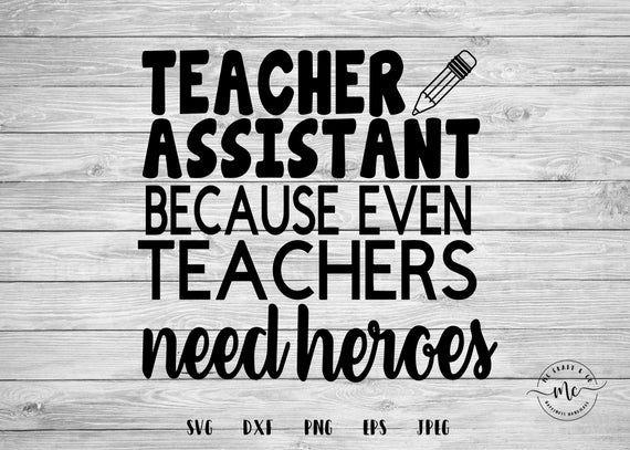 Teachers Assistant 2021-2022